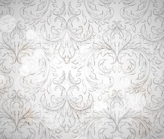 Pattern ornamental floral elegant beautiful
