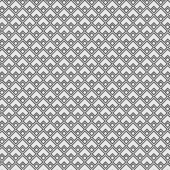 Pattern seamless endless line diamond triangle