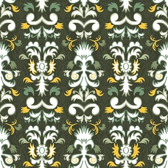 Pattern seamless folklore ornament