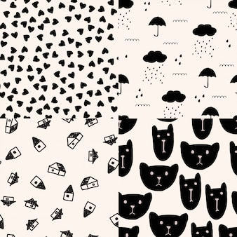 Pattern set.