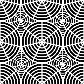 Pattern of the spider webdesign for halloween