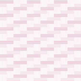 Pattern stripe vertical and horizontal seamless pink tone.