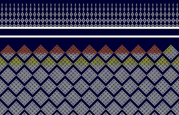 Pattern texture thailand of native cloth