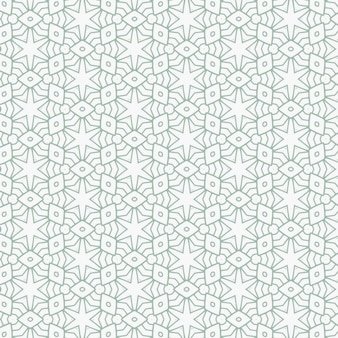 Pattern with abstract geometric lines