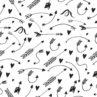 Pattern with arrows