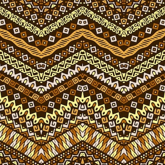Pattern with ethnic elements