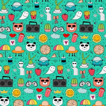 Pattern with lovely background.