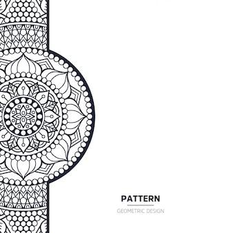 Pattern with mandala