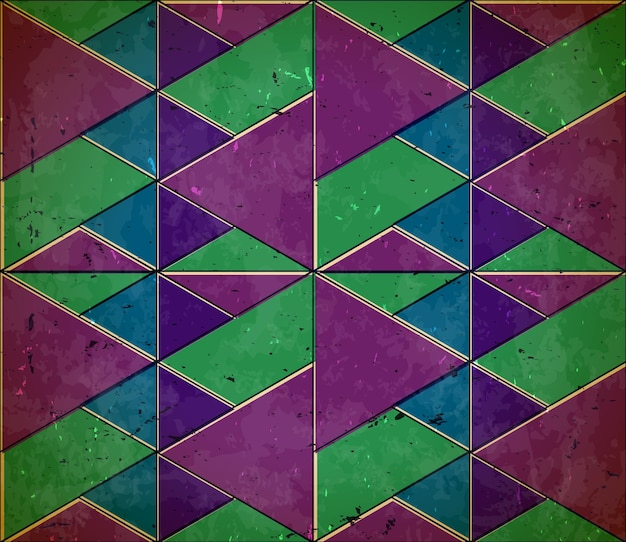 색상이 변경된 패턴