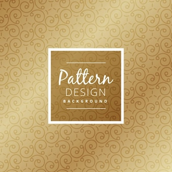 Pattern with swirls
