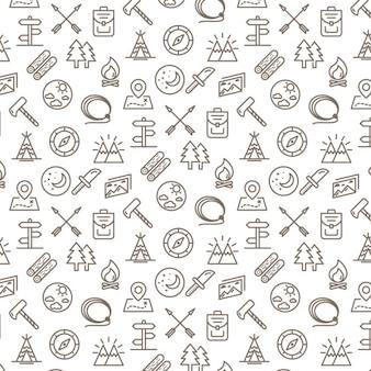 Кемпинг pattern