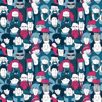Люди pattern