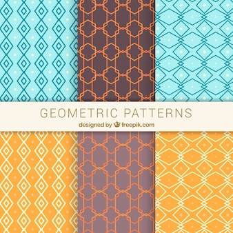 Patterns of geometric shapes