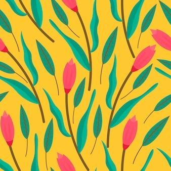 Цветочные бесшовные pattren