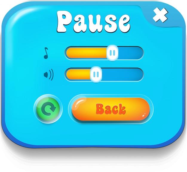 Pause scene
