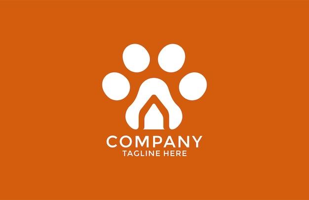 Логотип дома символ лапы