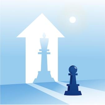 Pawn transform to be king