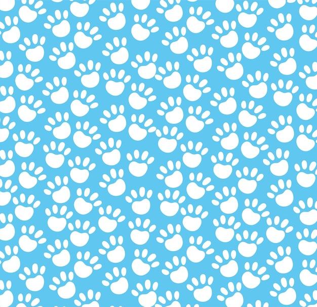 Paws prints pattern