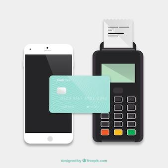 Disegno di sfondo di pagamento