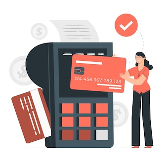 Payment concept illustration