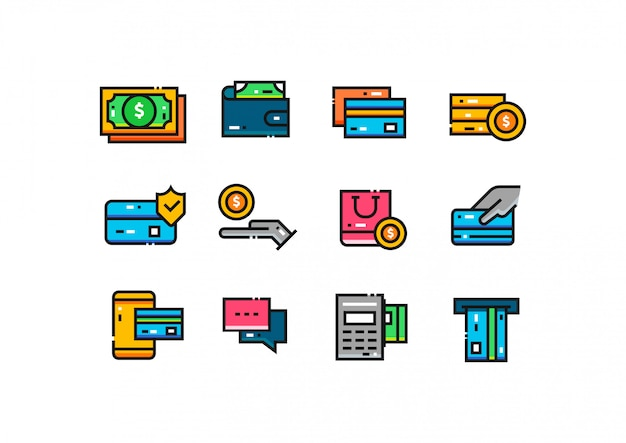 Payment icon collection