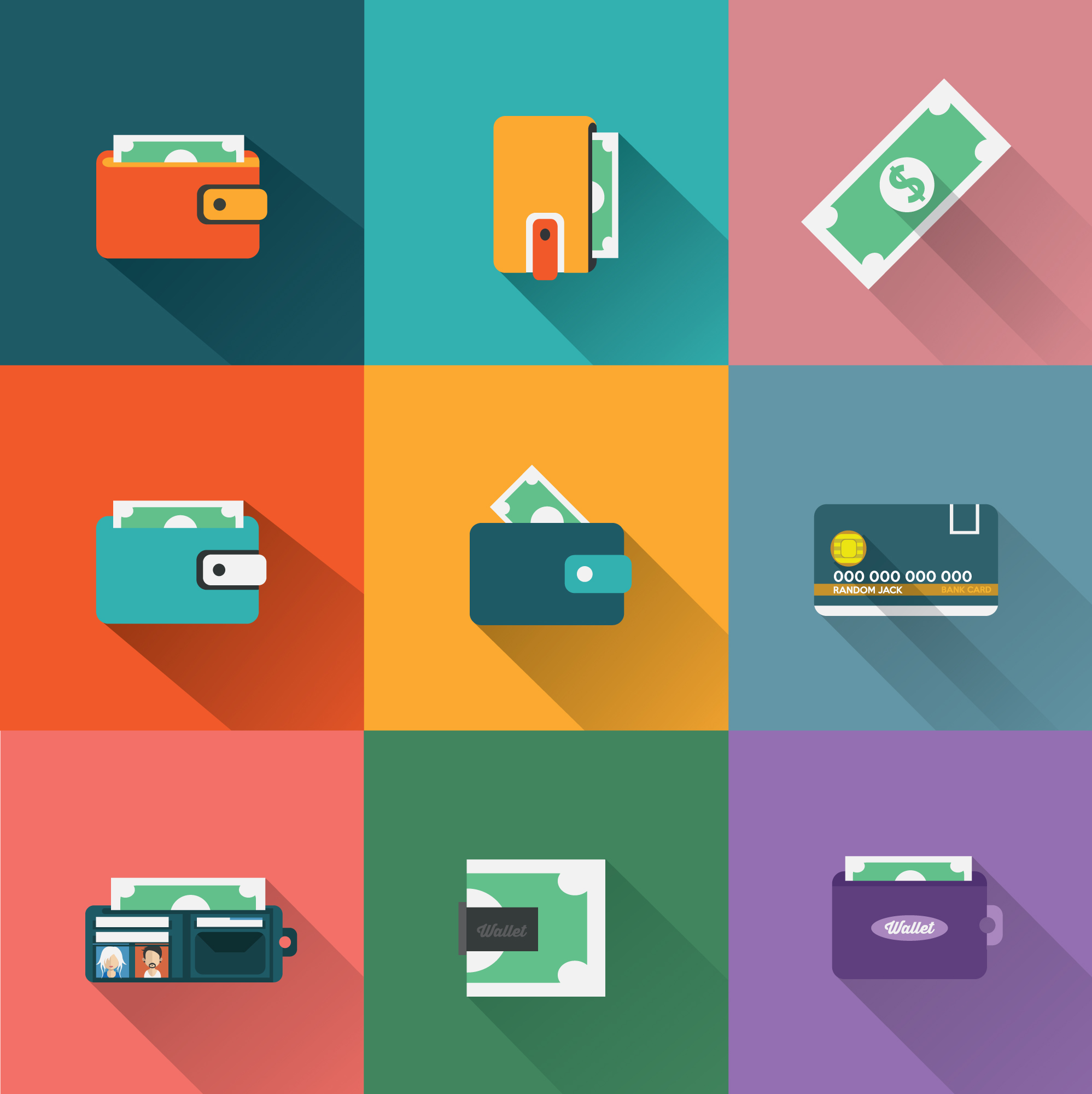 Payment icons collection