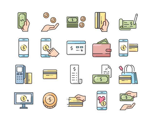 Набор иконок для платежей