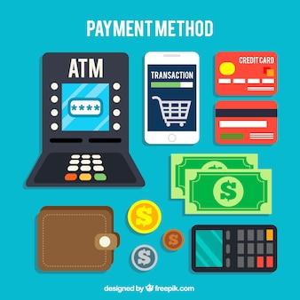 Disegno dei metodi di pagamento