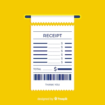 Receipt Vectors Photos And Psd Files Free Download