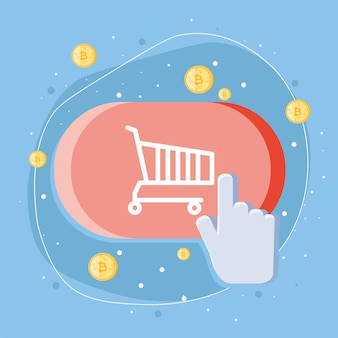 Payment and shopping button