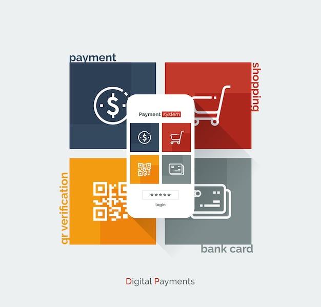 Мобильный интерфейс платежной системы