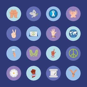 Peace awareness set