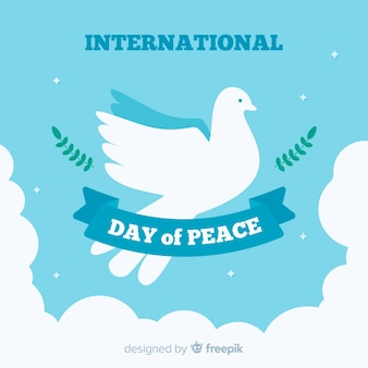 Peace day background