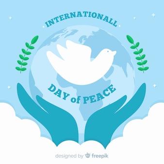 Фон дня мира