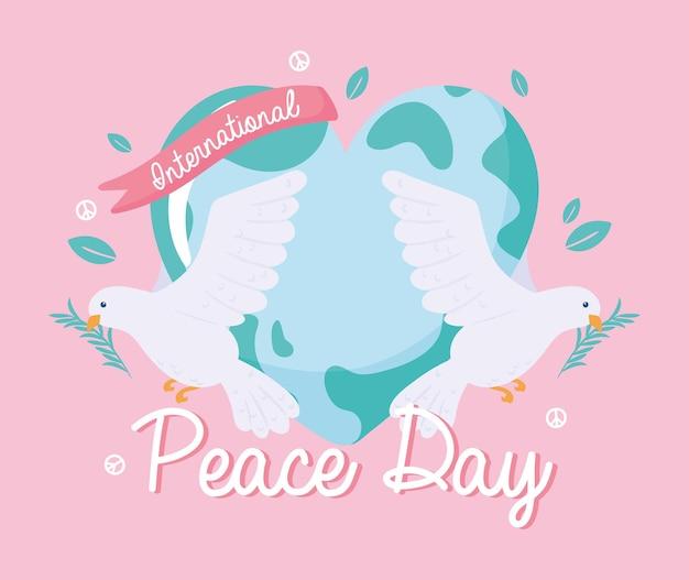 평화의 날 축하