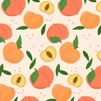 Peach pattern design