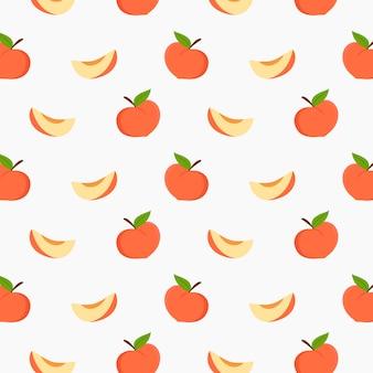Peach pattern vector design