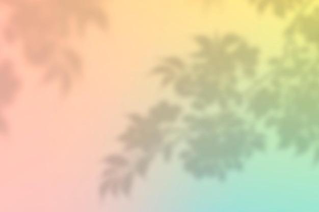 Персиковая тень эстетический фон вектор с пустым пространством