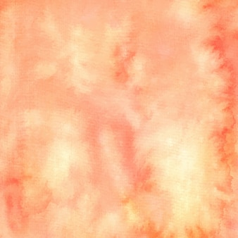 Peach watercolor abstract textured painting background