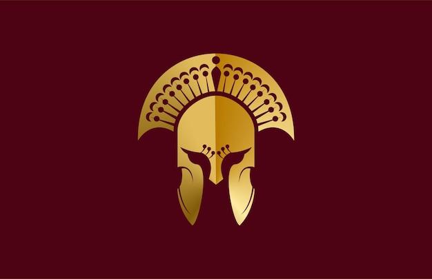Peacock gladiator helmet