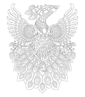 색칠 공부 페이지 인쇄를 위한 공작 만다라 디자인