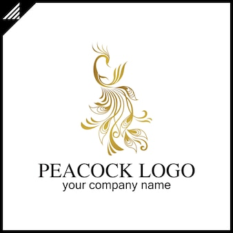 Логотип peacock