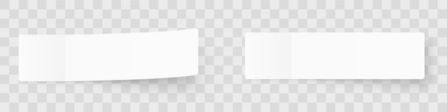 Pealistic sticky notes mockup, post stickers with shadows isolated on a grey background.