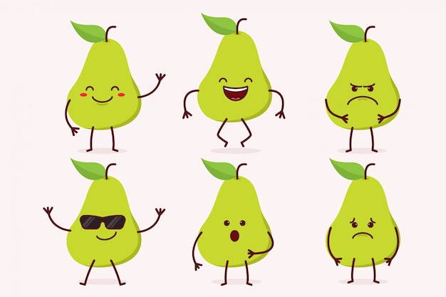 Pear fruit character set