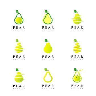Pear logo design inspiration