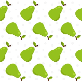 Pear pattern background