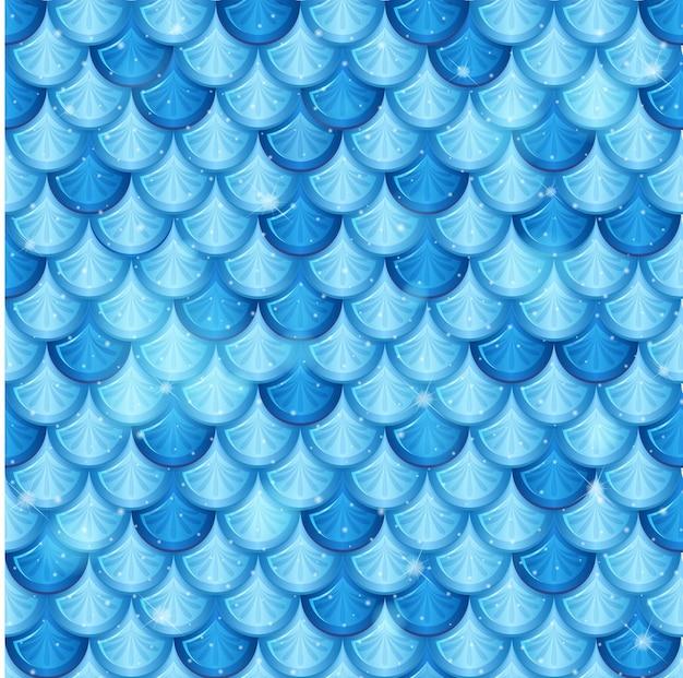Pearlescent mermaid scales seamless pattern