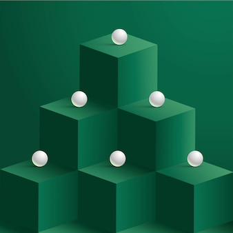 Pearls on cubes