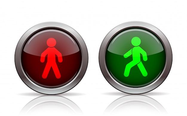 Pedestrian traffic lights