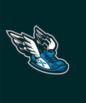 Логотип pegashoes e sports